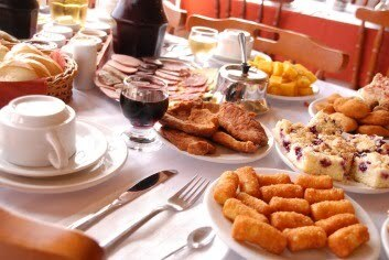 Croquete de frango do Café Colonial de Gramado.....hum.......