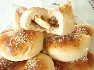 pastelão frito com massa de pão
