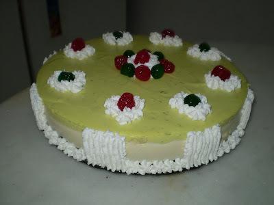 gelatina cremosa de limão