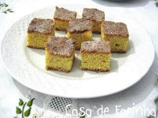 TORTA DE FUBÁ da tia Neysa