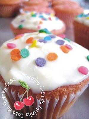 Cupcakes de framboesa e Limão