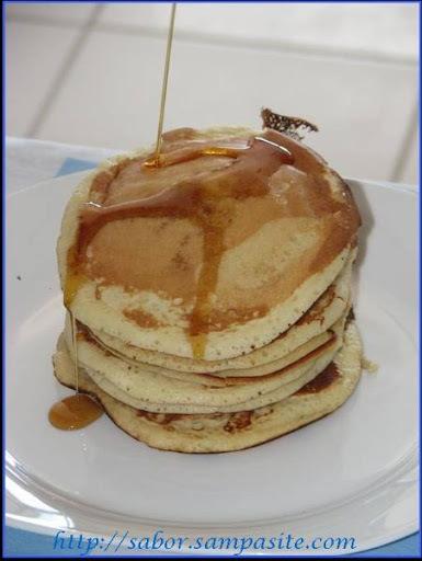 Domingo - dia quase oficial das pancakes.