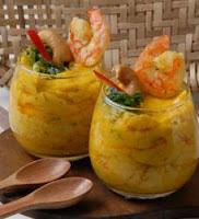 vatapá de camarão para 100 pessoas