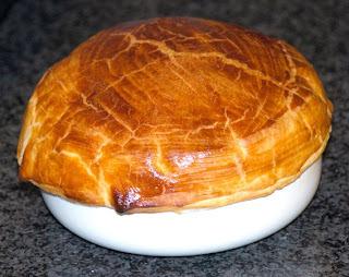 Sopa de Nadal amb crosta