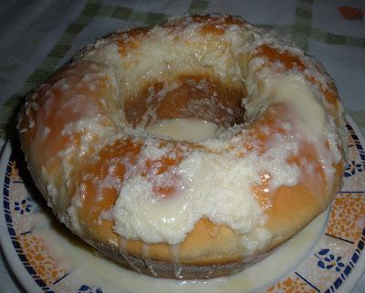 Pão de leite condensado
