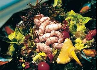 Ceviche de pulpo y camarón