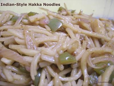 Hakka Noodles - Indo-Chinese fusion