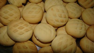 de biscoito com nata de polvilho doce assada