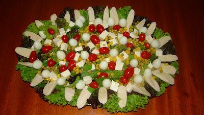 Salada de Folhas  Colorida