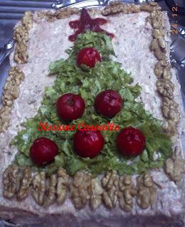 Torta Salgada de Natal