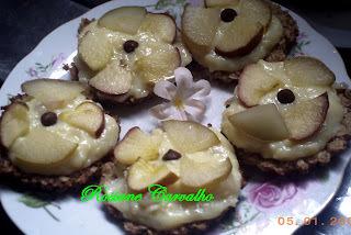 Tarteletes de maçã e aveia Nutry
