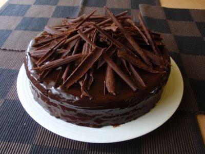 Čokoládová torta (zo 600 g čokolády!!!)