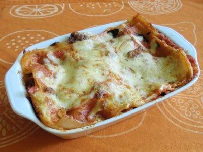 Lasagne (moja diétnejšia verzia)