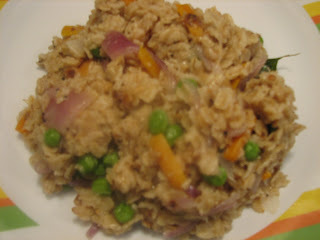 HEALTHY AND QUICK OATS.VEG UPMA