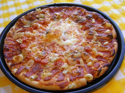 Pizza, ahogy én készítem!
