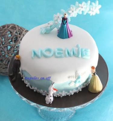 Gâteau gravity cake Reine des Neiges (gâteau marbré vanille/chocolat) au thermomix ou sans – Sweet Table Anniversaire Reine des neiges