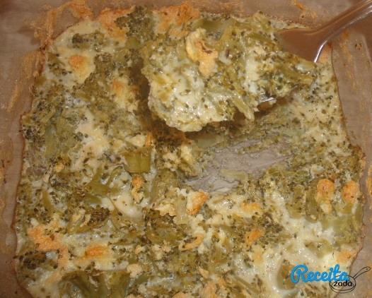 sufle de brocolis com farinha de trigo