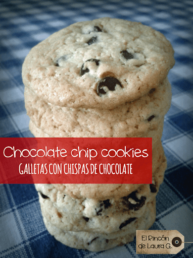 Chocolate chip cookies • Galletas con chispas de chocolate