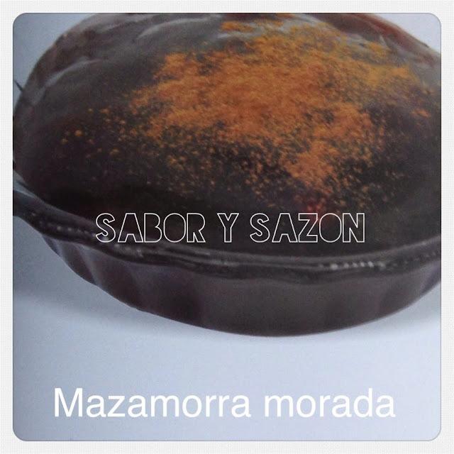 Cómo hacer MAZAMORRA MORADA