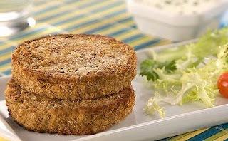 Hambúrguer de Lentilhas e Aveia (vegan)
