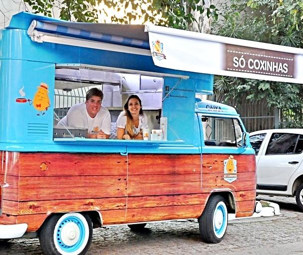 Conheça o primeiro Food Truck de coxinhas no Brasil