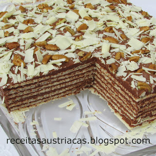 TORTA WAFFLE DE CHOCOLATE