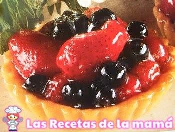 Receta de Tartaletas con fruta glaseada