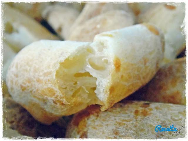 de biscoito de polvilho azedo com queijo