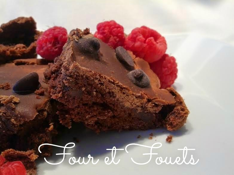 Brownies moka aux pépites de chocolat