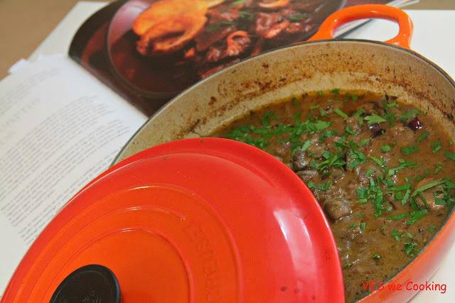 Carbonade de carne com cogumelos / Fotos dos Leitores