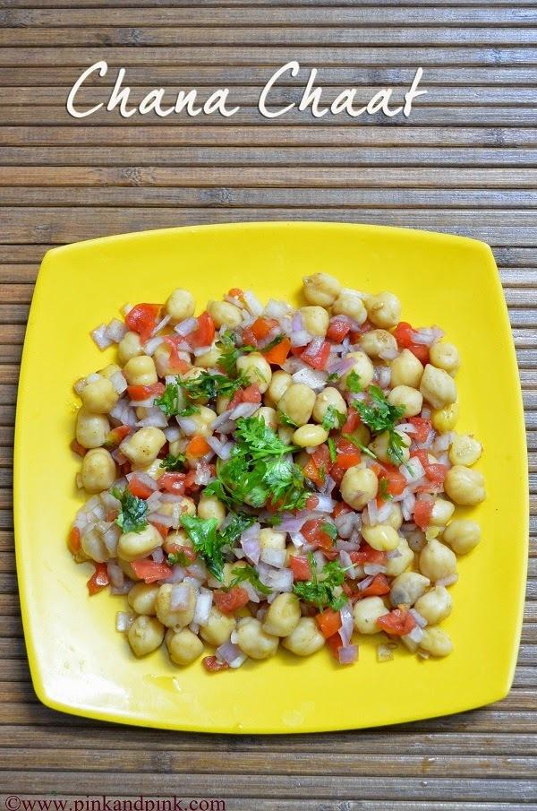 Chana Chaat Recipe - How to make Chana Chaat - Beach Side Chana chat