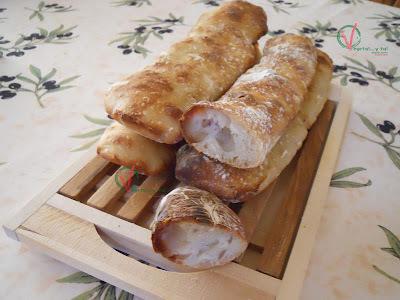 Pan chapata con masa madre