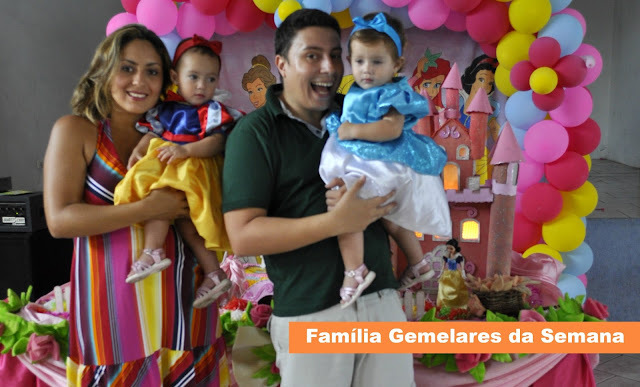 Família Gemelares da Semana - Juliana Camargo