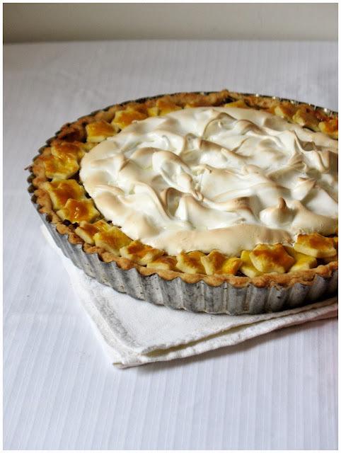Pita s rabarbarom i jabukom / Rhubarb & Apple Meringue Pie