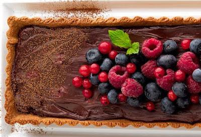 fotos de tortas decoradas com frutas