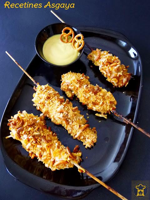 platos gourmet con pollo