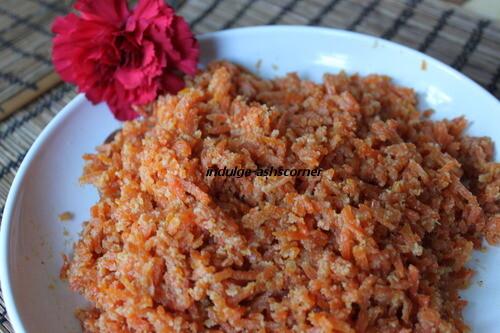 Gajar Halwa-Carrot Halwa