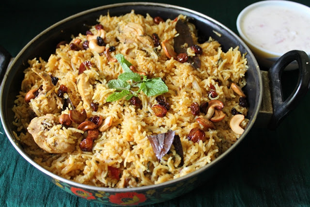 fish biryani in pressure cooker