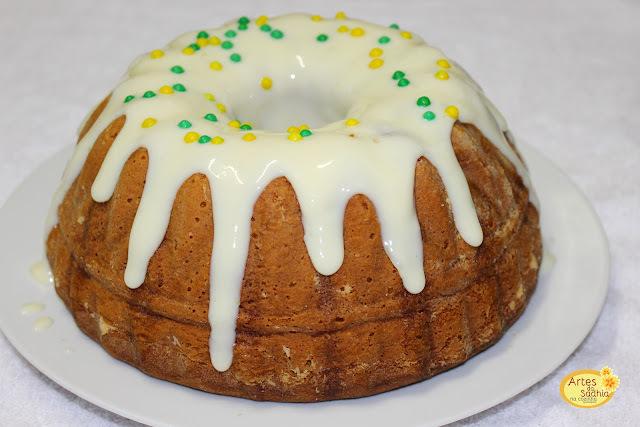 bolo de limão fácil