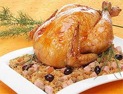 recheio para galinha recheada com figado