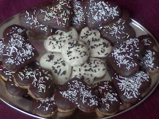 Csokimázas puszedli szívek