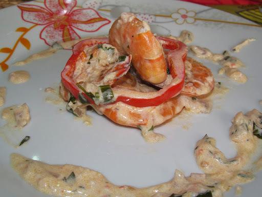 de camarão vg frito no azeite