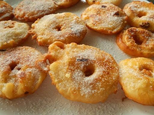 Buñuelos de manzana - Beignets