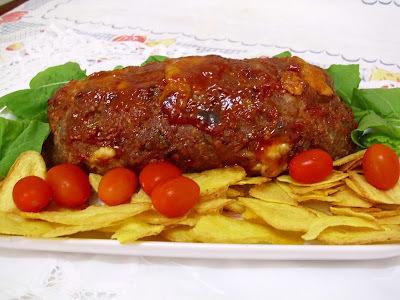 carne moida ao forno com cenoura cebola