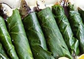 Recette de sardines en papillotes de feuilles de vigne au barbecue, à la plancha (Grèce, Turquie..)