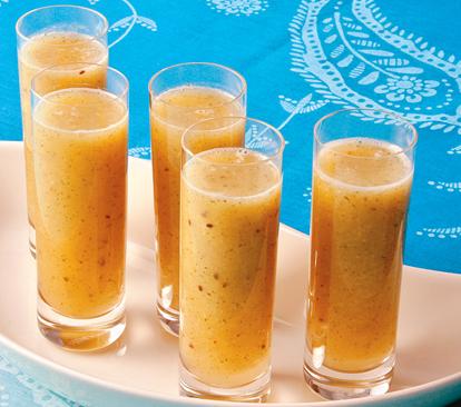 Suco de Abacaxi, Maçã e Hortelã