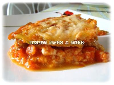 Lasanha Vegetariana sem Massa / No-Pasta Veggie Lasagna