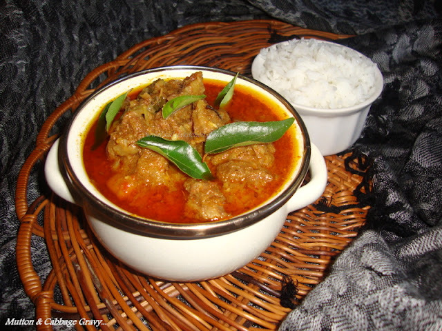 Mutton and Cabbage Curry