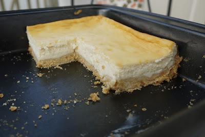 Citronový cheesecake z mascarpone