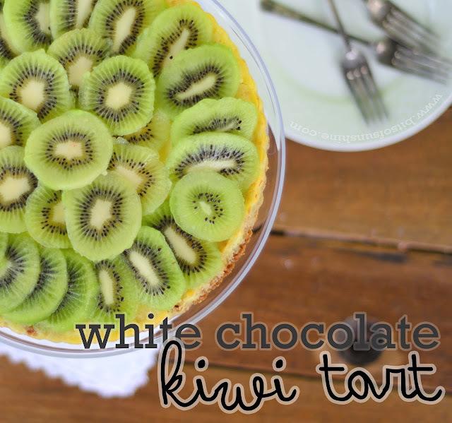 White Chocolate and Kiwi Tart